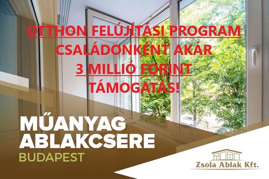 Ablakcsere támogatás 2021